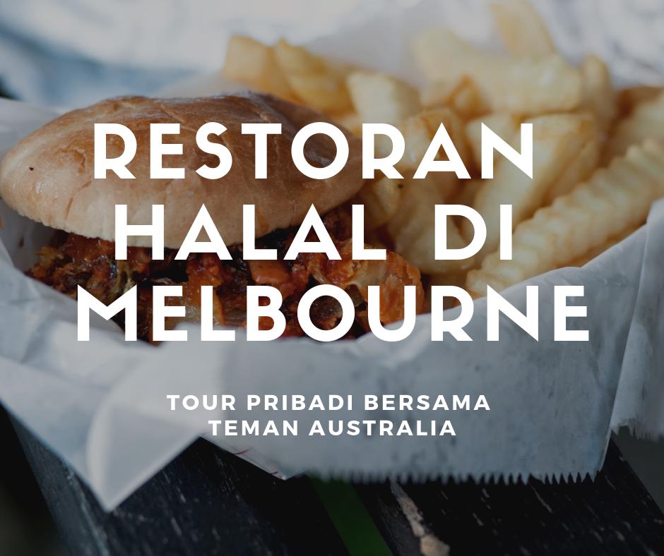 Restoran Halal di Melbourne